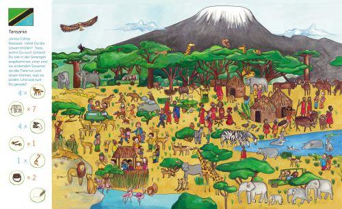 Mein Weltreise-Wimmelbuch