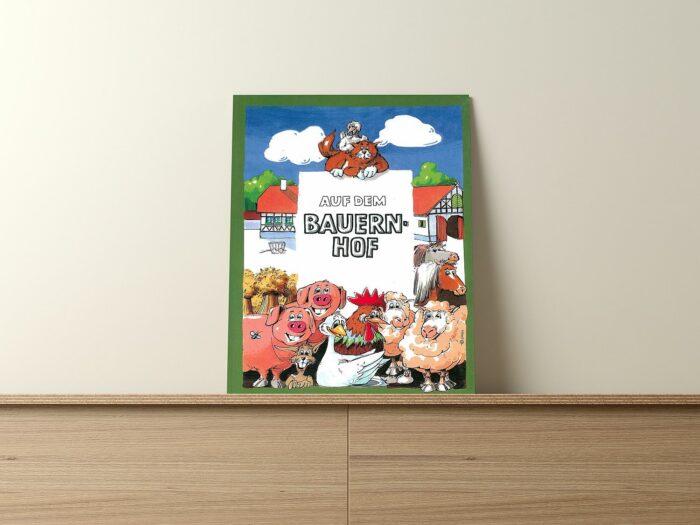 Personalisiertes Kinderbuch - Auf dem Bauernhof
