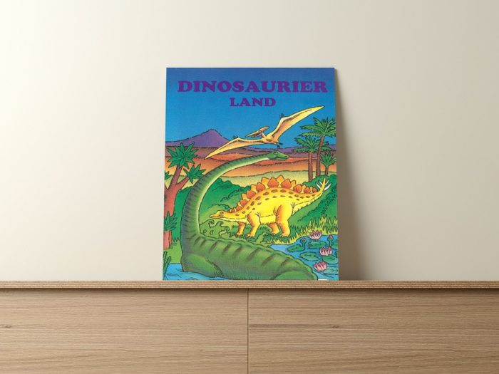Personalisiertes Dino-Buch
