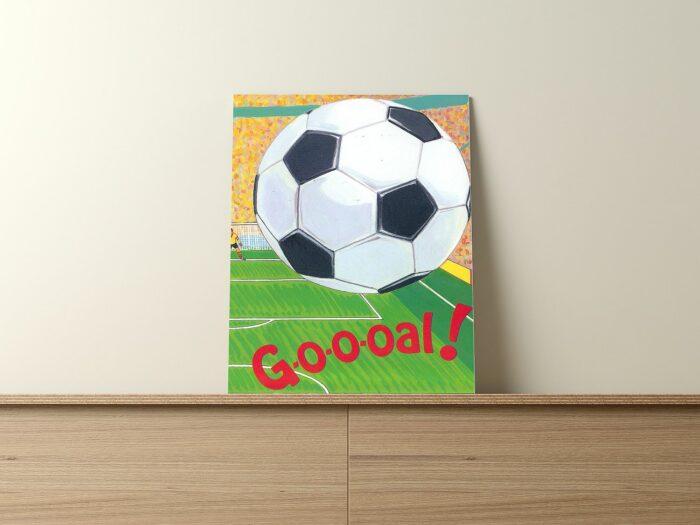personalisiertes Fußballbuch