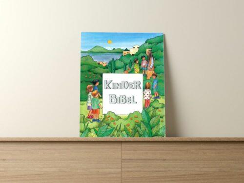 Personalisierte Kinderbibel zur Taufe