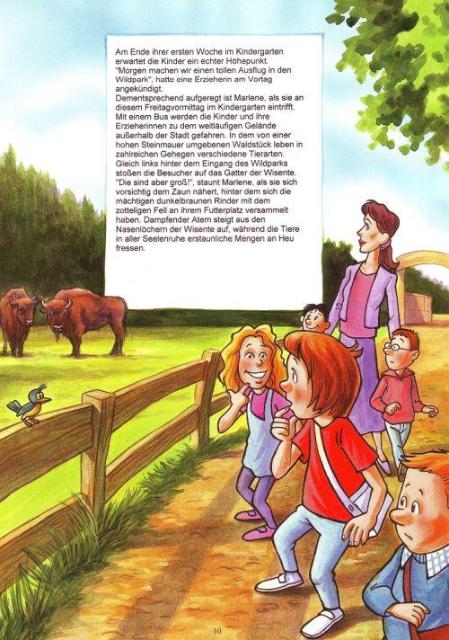 Kindergartenbuch seite 10