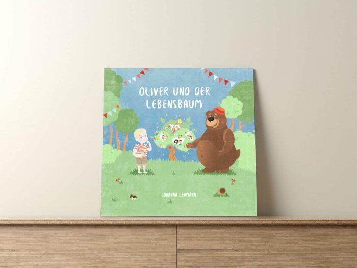 Der Lebensbaum - ein personalisiertes Kinderbuch zur Taufe