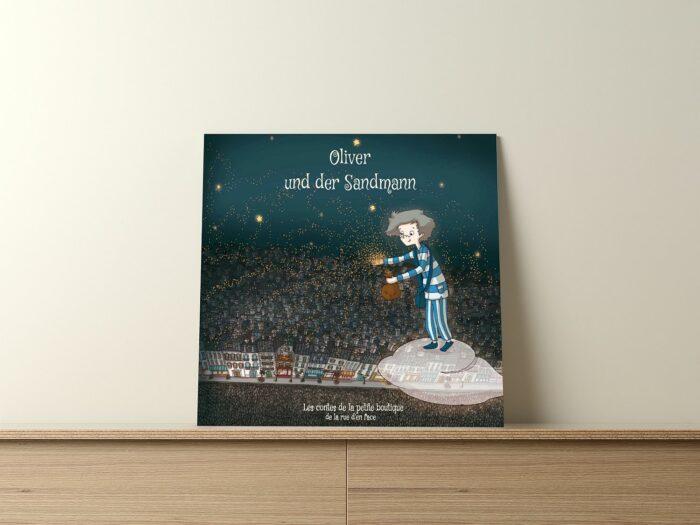 Der Sandmann - ein personalisiertes Kinderbuch zur Gute-Nacht