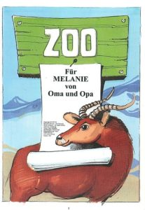 Zoo Widmungseite