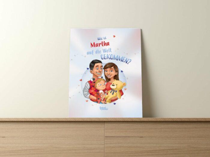personalisiertes Buch für Babys